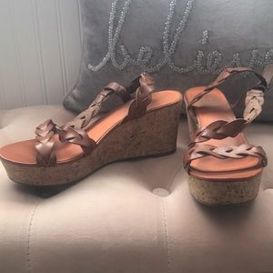 Wedge sandals size 8.5